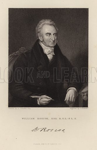 William Roscoe. Published in 1847.