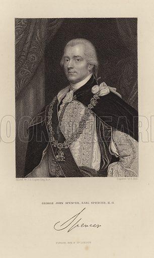 Earl Spencer. George John Spencer.
