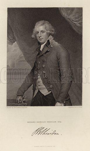 Richard Brinsley Sheridan. Published in 1847.