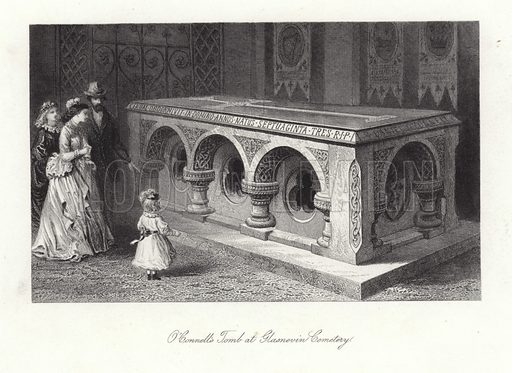 O'Connell's tomb at Glasnevin Cemetery.