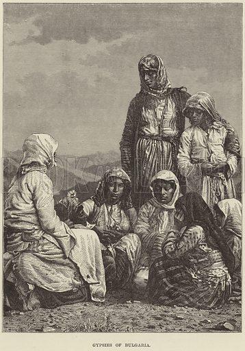 Gypsies of Bulgaria.