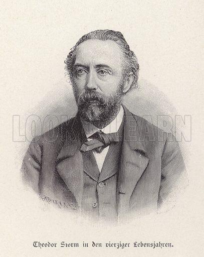 Theodor Storm, German writer.