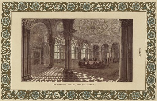 The Directors' Parlour in the Bank of England, in the City of London.