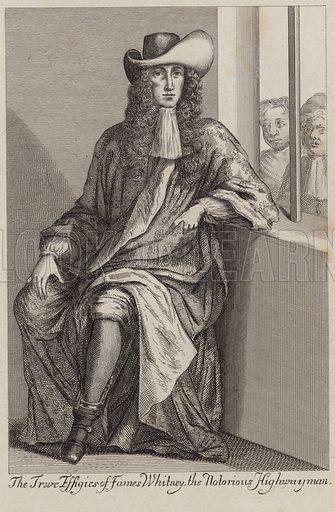 The true effigies of James Whitney, the notorious highwayman.