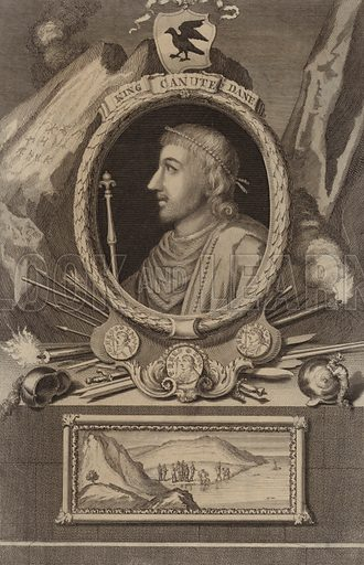 Portrait of King Canute