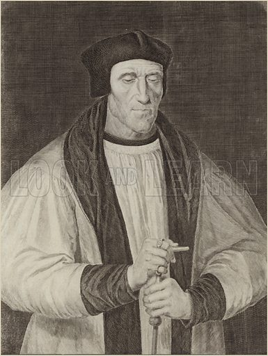John Foxe, English historian and martyrologist, author of The Acts and Monuments, popularly known as Foxe's Book of Martyrs.