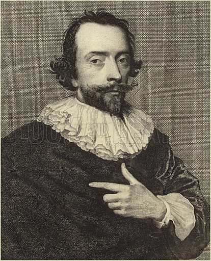Portrait of a man with a pointed beard.