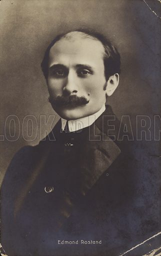 Edmond Rostand, French poet and dramatist.