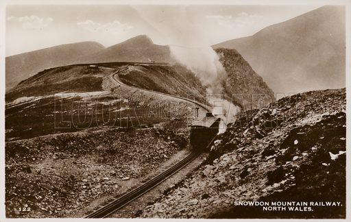 Snowdon Mountain Railway, North Wales.