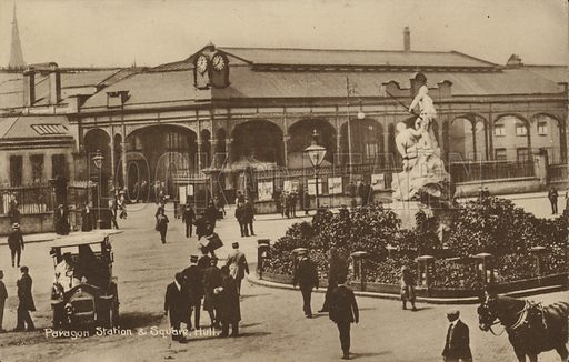 Paragon Station and Square in Hull.