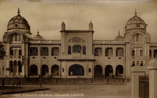 King Edward's Medical College in Lahore, Pakistan.