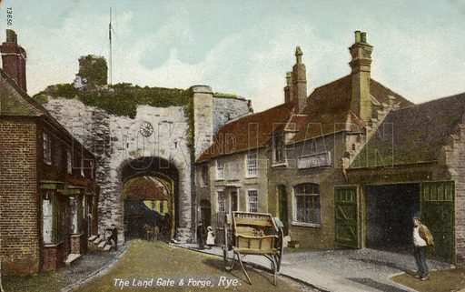 The Land Gate and Forge in Rye.