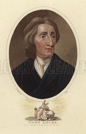 John Locke, English philosopher and physician. Engraved by John Chapman. Published as the act directs 26 January 1811, London.