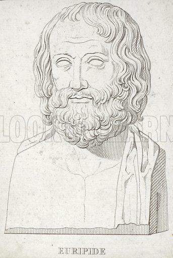 Euripides, Greek playwright.