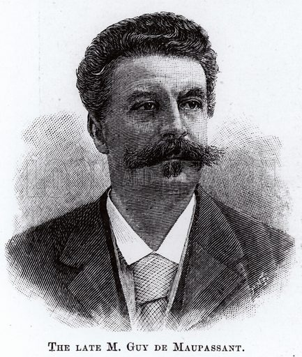 Guy de Maupassant, French writer.