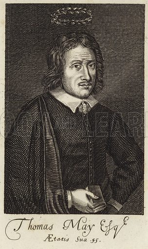 Thomas May, English poet, dramatist and Renaissance historian.