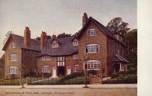 Bournville Village – Cottages, Sycamore Road.