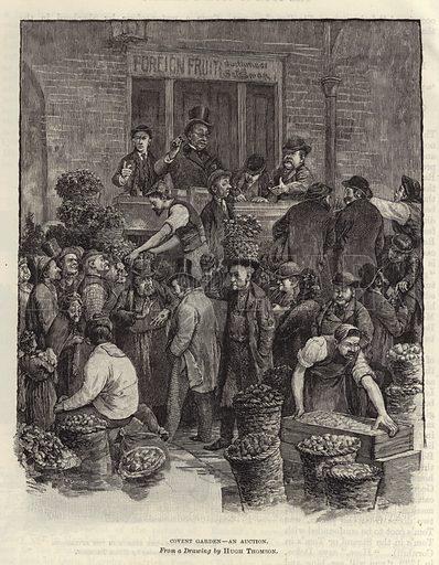 Covent Garden – an auction
