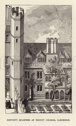 Sir Isaac Newton's quarters at Trinity College, Cambridge