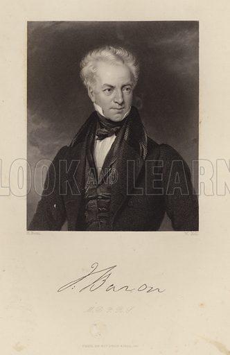 John Baron (1786-1851), English physician and biographer of Edward Jenner.