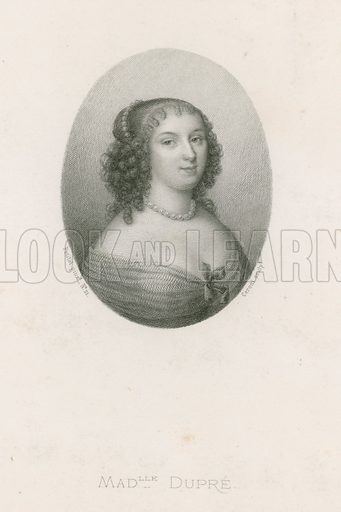 Mademoiselle Dupre. Engraved by Ceroni.