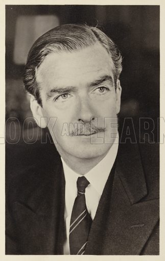 Anthony Eden,  picture, image, illustration