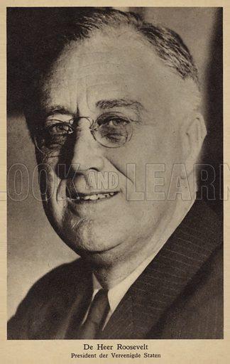 President Roosevelt (1882–1945).