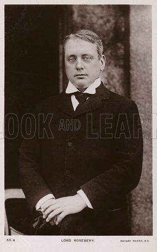 Lord Rosebery (1847–1929). British Liberal statesman and Prime Minister.