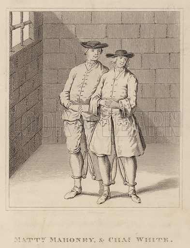 Matthew Mahoney, and Charles White. Illustration for Characters of Remarkable Persons by James Caulfield (H R Young and T H Whitely, 1819).