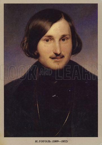 Nikolai Gogol (1809–1852), Russian novelist, dramatist and short story writer.