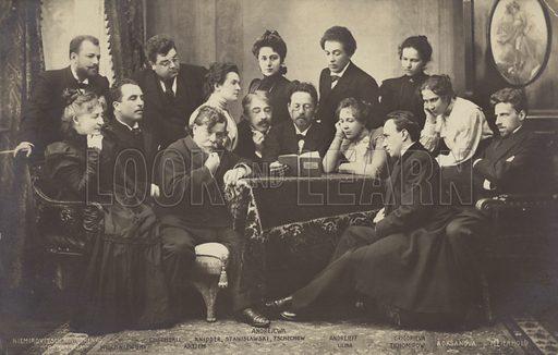 Chekhov, picture, image, illustration