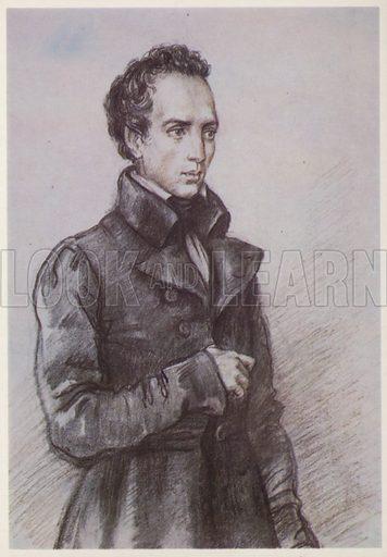 Yevgeny Baratynsky (1800-1844), Russian poet.