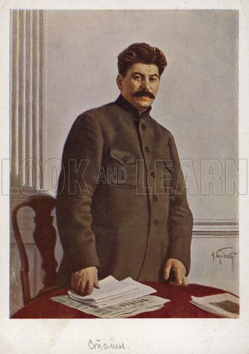 Stalin, picture, image, illustration
