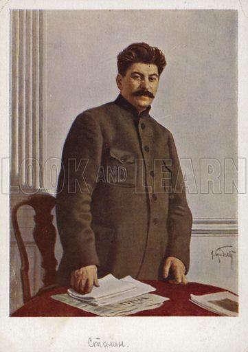 Joseph Stalin (1878-1953), Soviet Bolshevik leader.