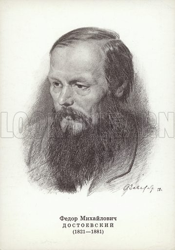 Fyodor Dostoyevsky (1821-1881), Russian novelist.