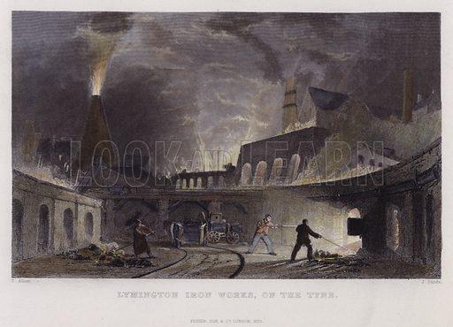 Lymington Iron Works, on the Tyne.
