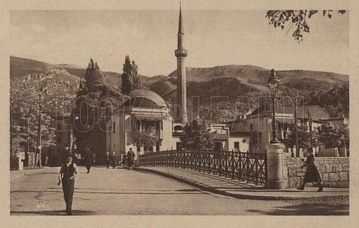 Emperor's Mosque, Sarajevo.