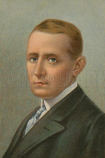 Guglielmo Marconi (1874-1937), Italian inventor.
