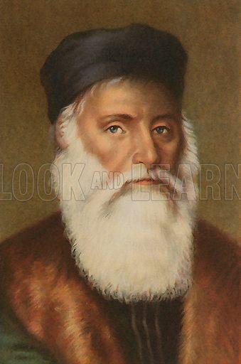 Vasco de Gama (1469-1524), Portuguese navigator,  explorer.