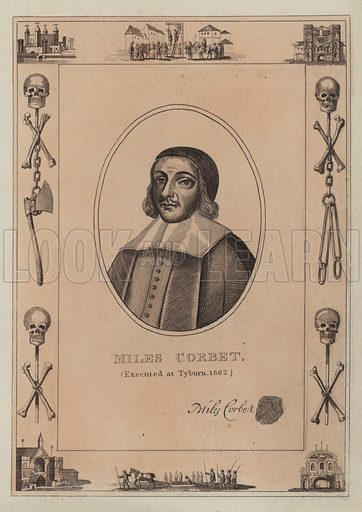 Miles Corbet, executed at Tyburn, 1662.