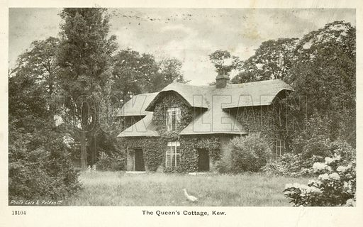The Queen's Cottage, Kew. Postcard, early 20th century.