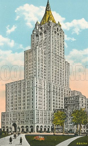 New York Life Insurance Company, New Home Office Building, New … stock  image | Look and Learn