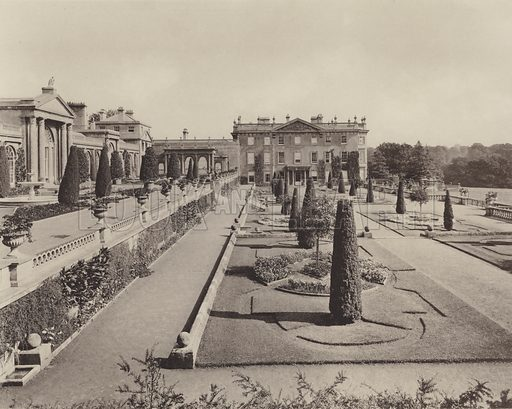 The Formal Garden at Bowood, Wilts - Look and Learn History