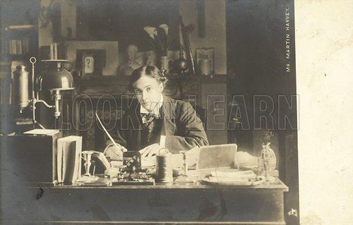 Michael Martin Harvey.  Postcard, early 20th century.