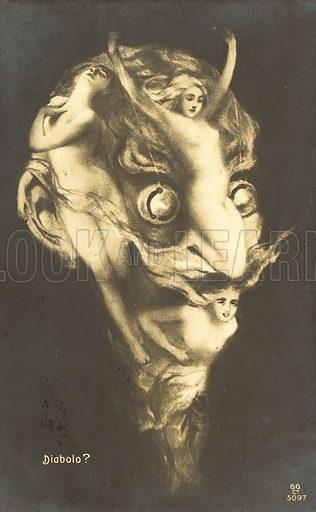 Arcimboldo portrait of Mephistopheles