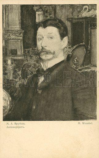 Mikhail Vrubel Self Portrait