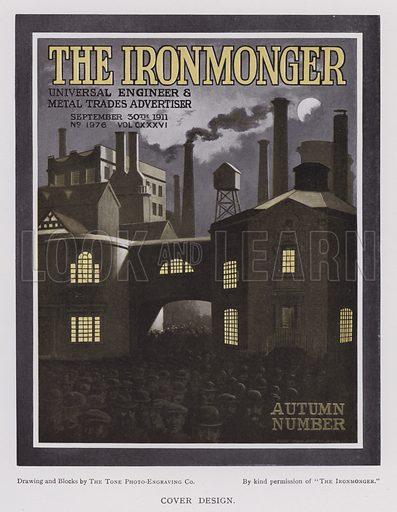 Cover design for The Ironmonger, 1911
