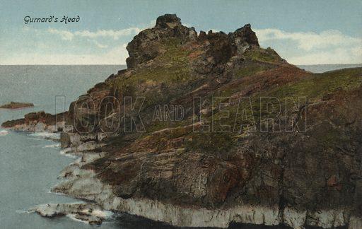 Gurnard's Head, Cornwall. Postcard, early 20th century.