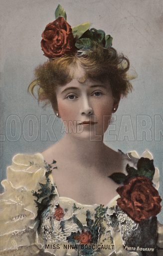 Nina Boucicault, English actress