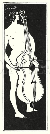 Title-page ornament. Illustration for The Later Work of Aubrey Beardsley (John Lane, 1901).